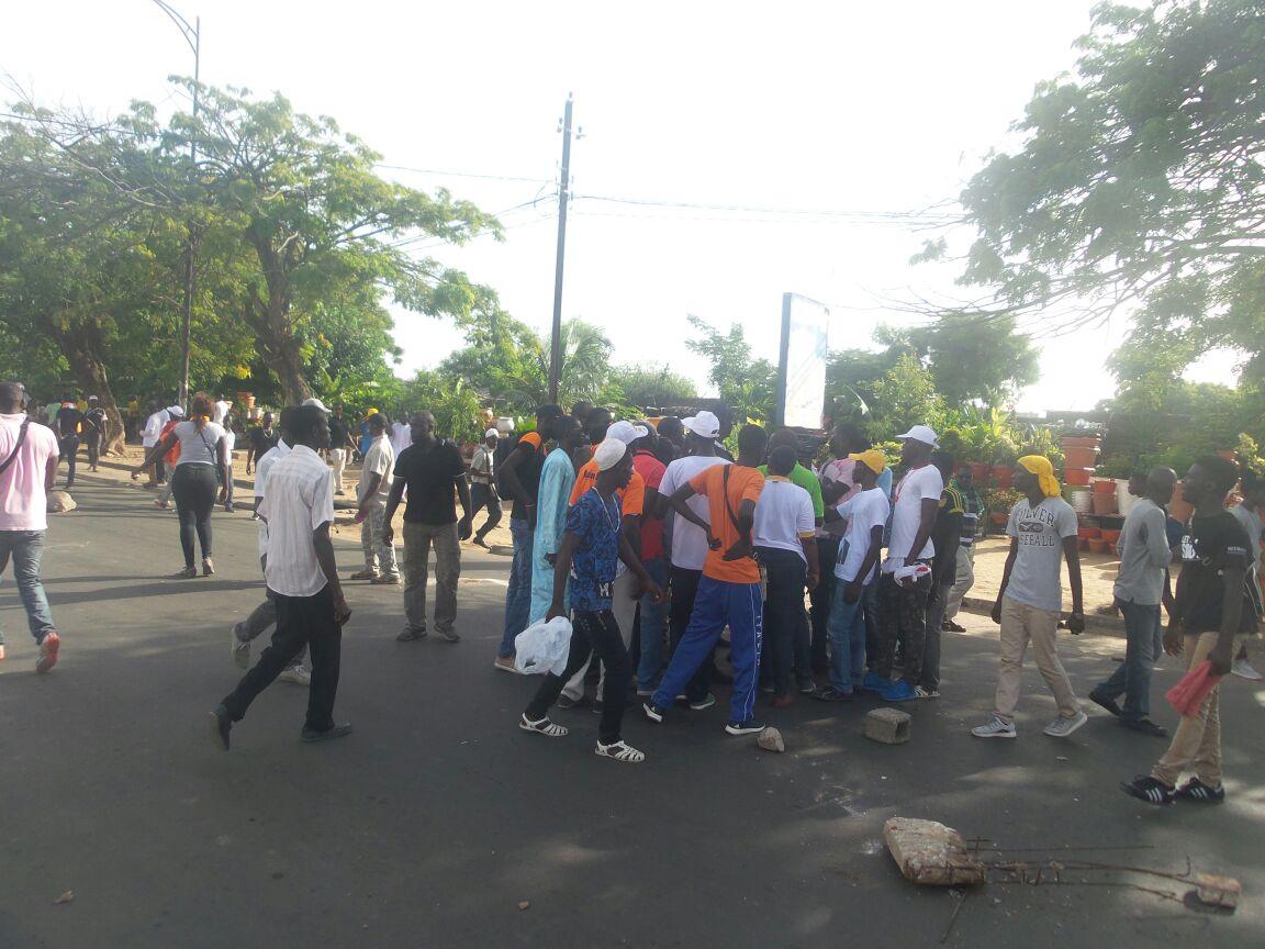Des manifestants arrêtés et conduits au Commissariat de la Médina