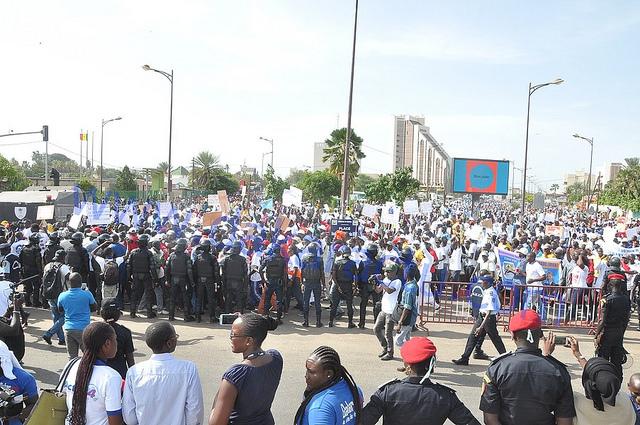 PRECISION : Manko Wattu Sénégal a mobilisé au moins 15.000 personnes