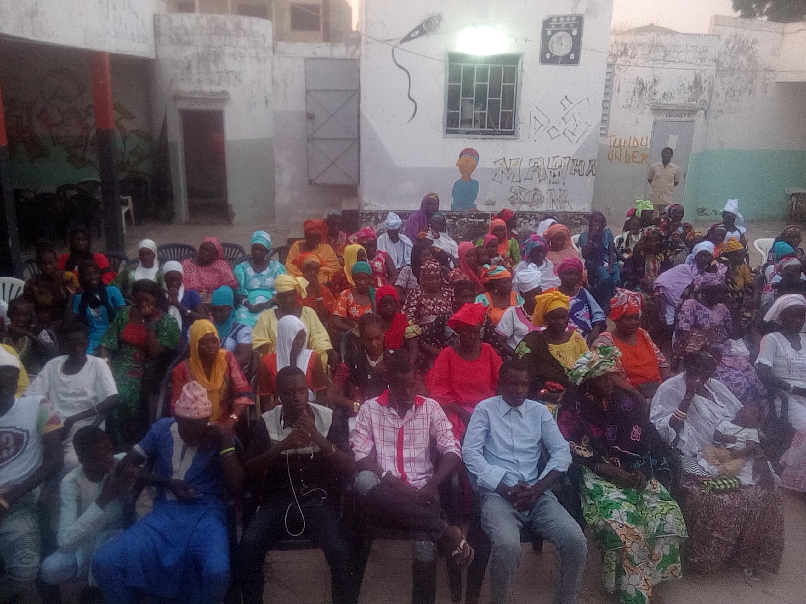 Pétition de la JDS : Touba et Mbacké accueillent la 5ème caravane