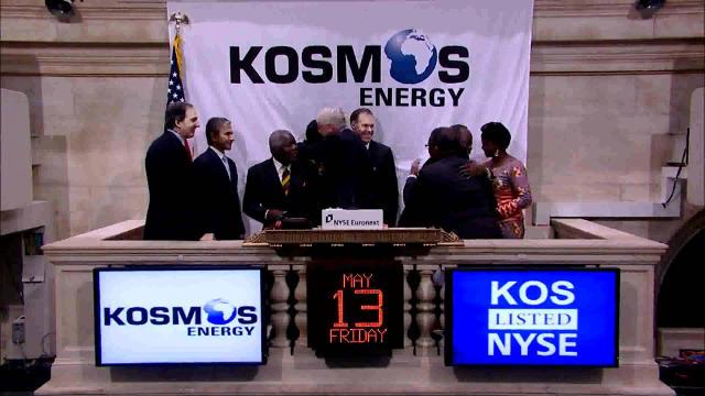 LA MANIFESTATION RÉPRIMÉE DE L'OPPOSITION A-T-ELLE FAIT CHUTER LE COURS DE KOSMOS ENERGY À LA BOURSE DE NEW YORK?
