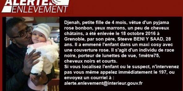 Alerte enlèvement en France : « un individu de race noire », la bourde du ministère de la Justice