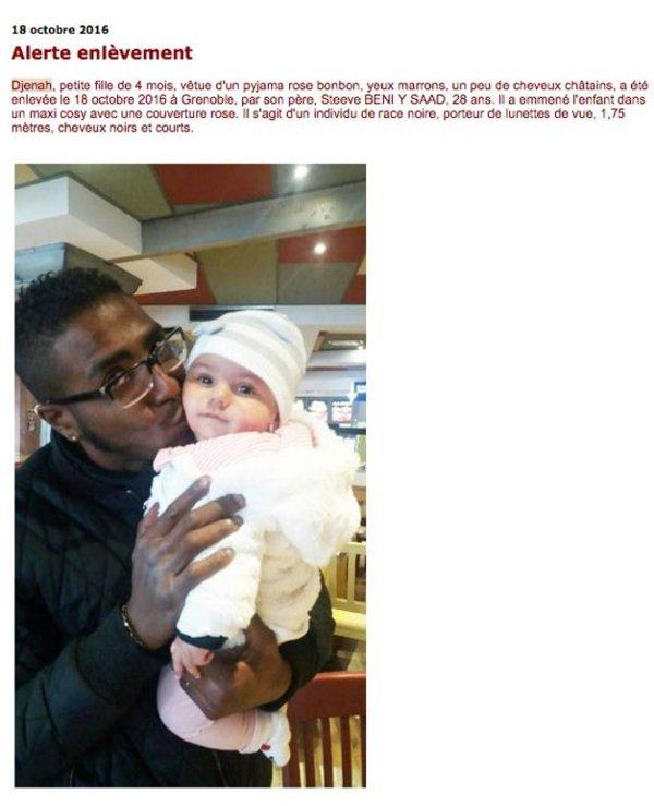 """""""Race noire"""" dans les communiqués de Police: la dernière alerte enlèvement en France a créé encore une polémique !"""