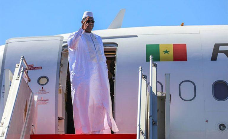 Cérémonie d'investiture du Président du Cap-Vert, Jorge Carlos Fonseca : Macky Sall à Praia