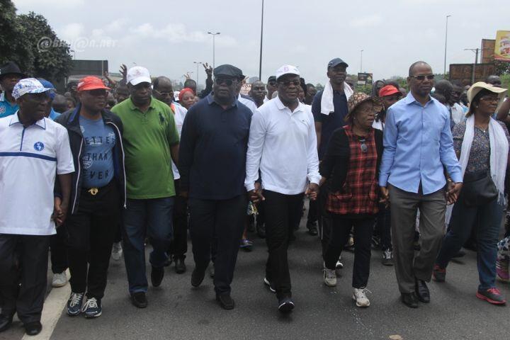 Côte d'Ivoire/référendum: brève interpellation de leaders d'opposition lors d'une manifestation