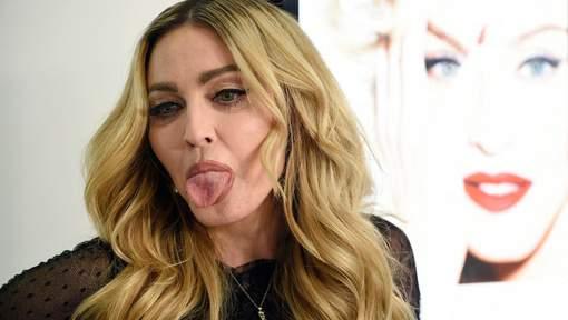 Madonna promet une f****** à tous ceux qui voteront pour Clinton
