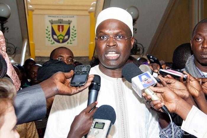 Khalifa Sall, maire de la ville de Dakar «on a voulu mettre Barthélémy dans une posture de faiblesse mais, qui connait l'homme sait que ce sera vain»
