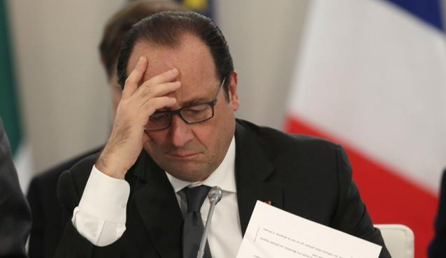 Seuls 4 % des Français sont satisfaits de l'action de Hollande