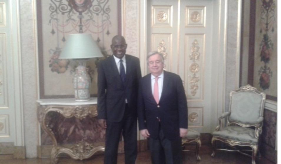 L'ambassadeur du Sénégal au Portugal reçu par le Secrétaire général des Nations Unies Antonio GUTERRES