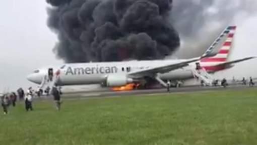 Incendie sur le vol Chicago-Miami: un pneu ou le moteur?