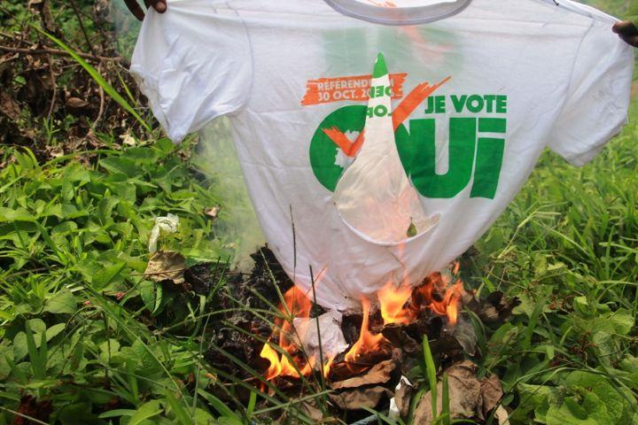 Côte d'Ivoire/référendum sur la Constitution : incidents dans des bureaux de vote
