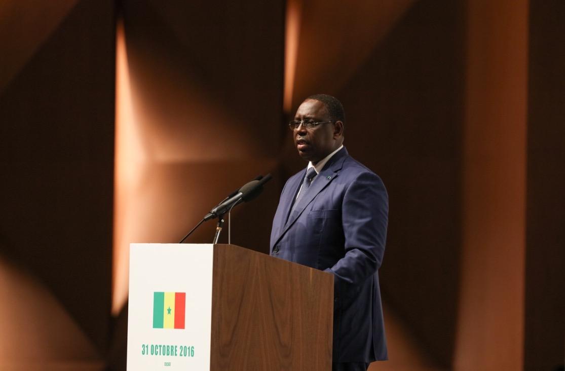 Installation du Haut Conseil des Collectivités Territoriales (HCCT) :  Discours du président Macky Sall