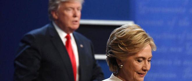 USA : un sondage donne Trump devant Clinton