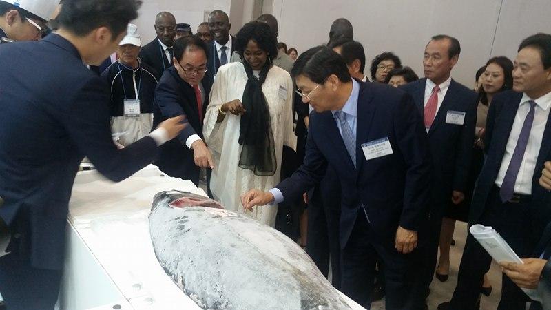 Exposition internationale de la pêche de Busan : Les produits halieutiques sénégalais à l'honneur à Busan