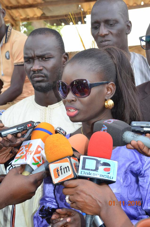 Thérèse Faye (maire de Diarerre ) : « Le Pudc prend forme dans ma localité »