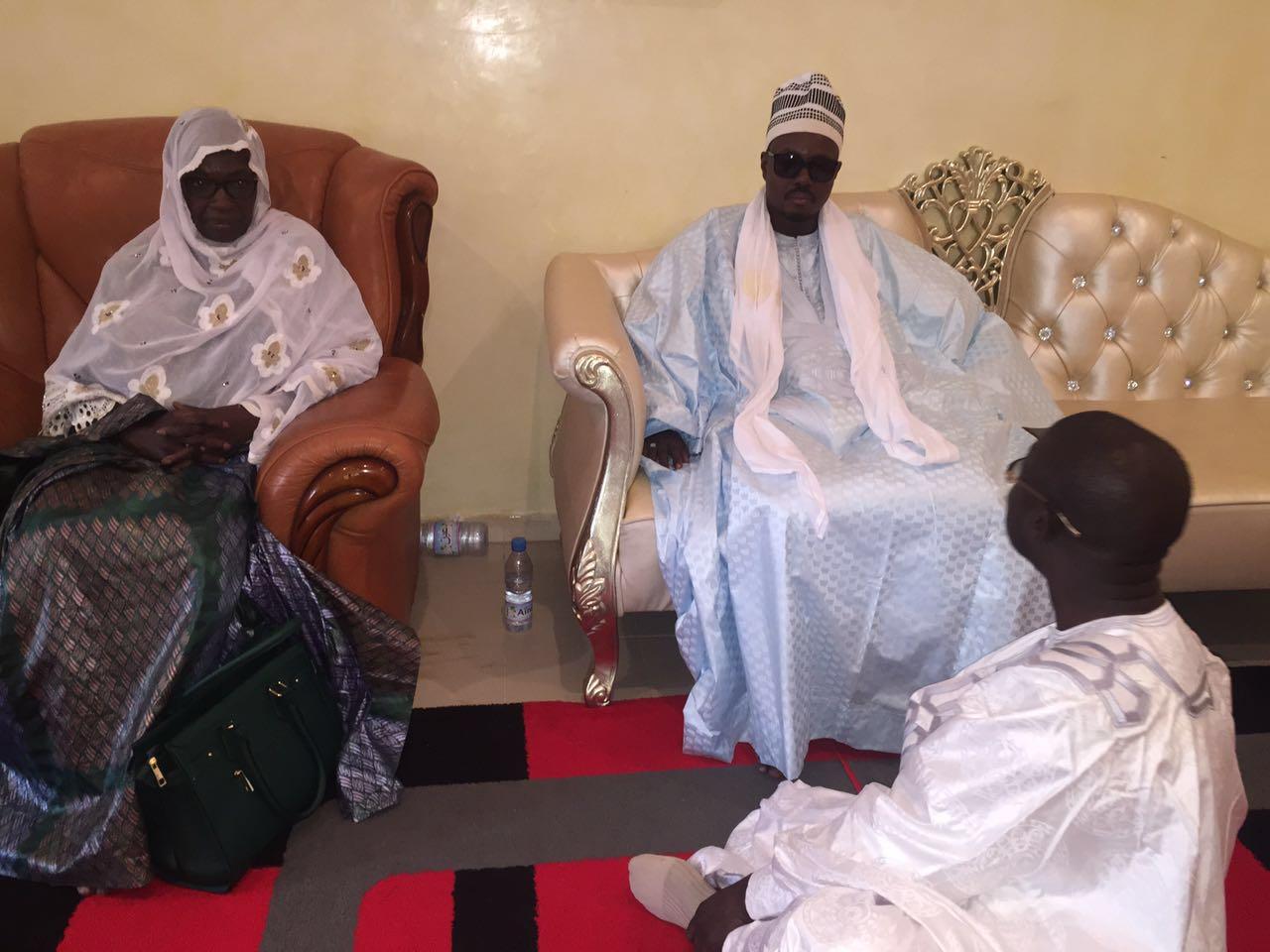 Seynabou Diakhaté de l'Ofnac reçue par Cheikh Bass Abdou Khadre
