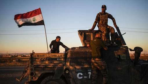 L'armée irakienne est entrée dans Mossoul