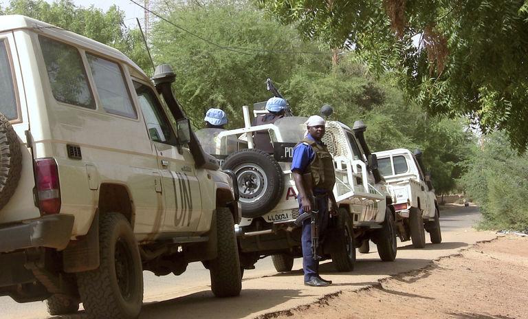 Mali : un Casque bleu togolais et 2 civils tués, 7 Casques bleus blessés dans une attaque