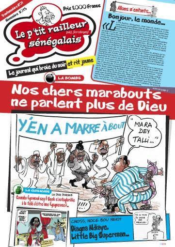 Presse : « Le P'tit Railleur Sénégalais » passe désormais en hebdomadaire