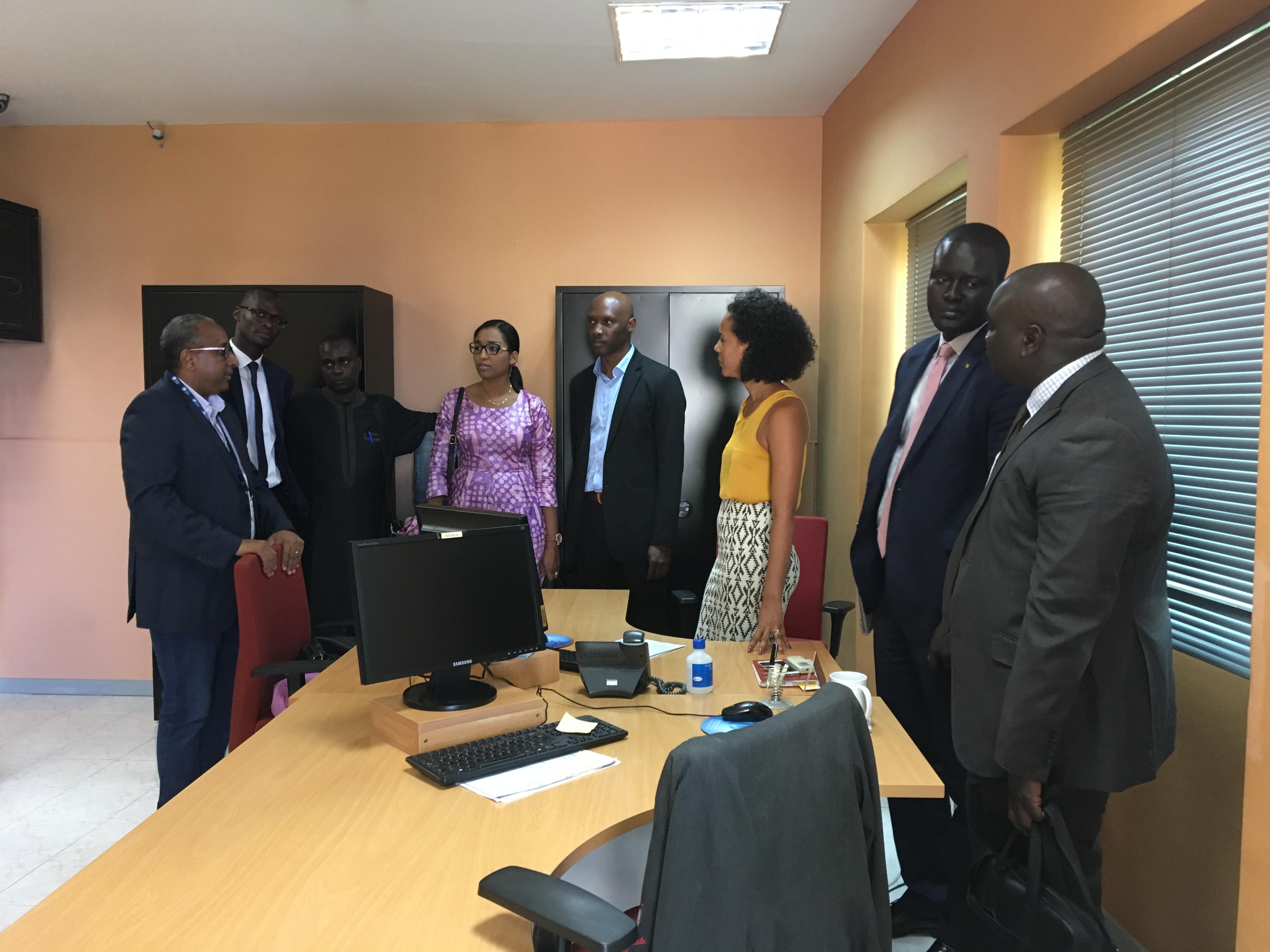 Cap-Vert : Le Directeur de l'ADIE en mission d'imprégnation