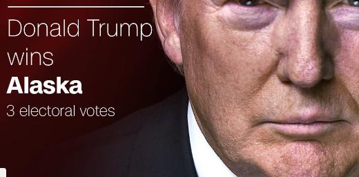 Trump à 3 grands électeurs de la victoire