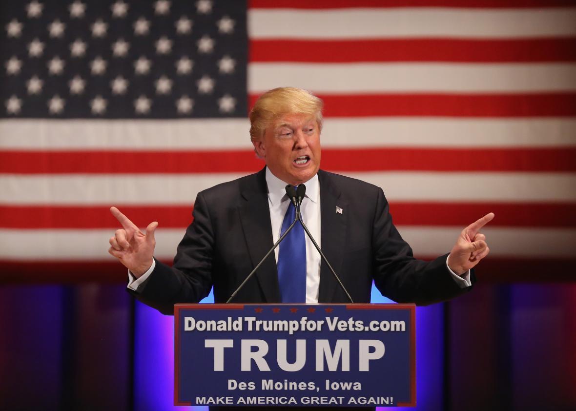 Donald Trump est le 45ème président des États-Unis