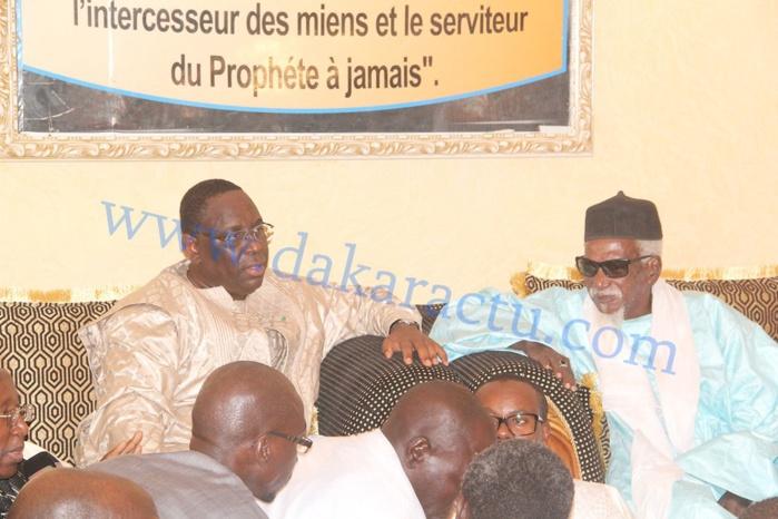 PRÉPARATION MAGAL 2016 : Le président Macky Sall à Touba le 17 novembre , le Khalife général des Mourides  demande un accueil chaleureux