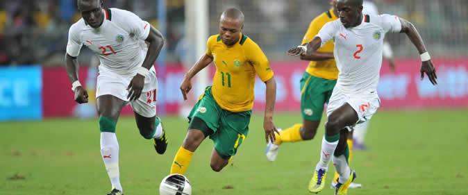 Afrique du sud / Sénégal : Les lions menés 2-0 à la mi-temps