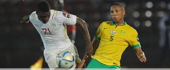 C'est fini. Le Sénégal s'incline sur le score de 2 à 1 face à l'Afrique du sud