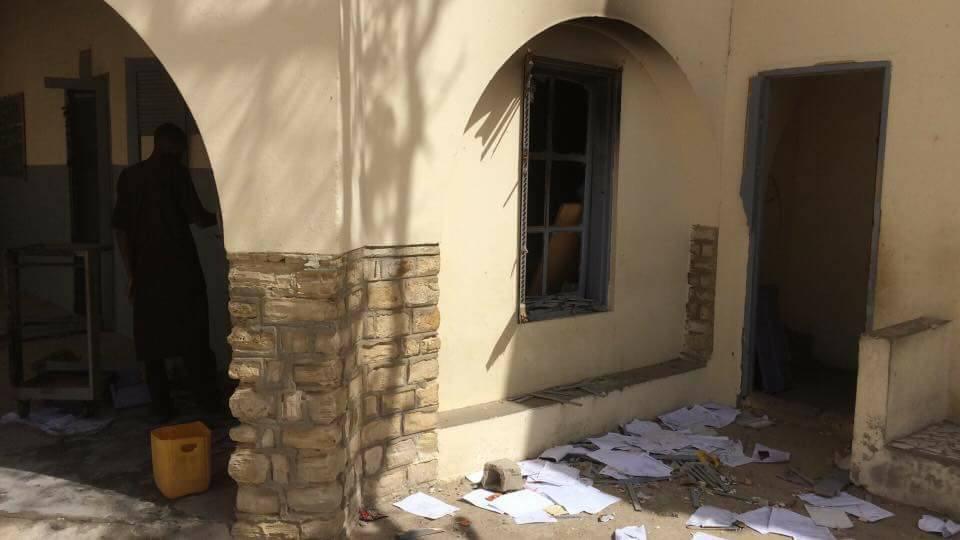 Les images de l'incendie de l'école Cheikhou Touré à Guet Ndar