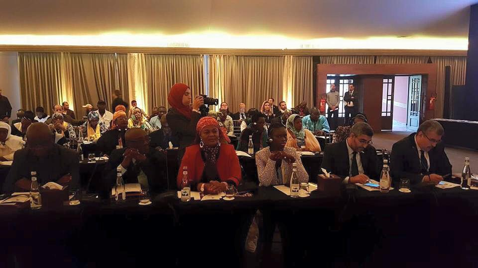 MAROC : Thérèse Faye Diouf à l'assemblée générale extraordinaire des cités et gouvernements locaux..