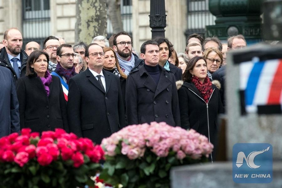 Un an après, la France commémore les attentats du 13 novembre (Jeune Afrique)