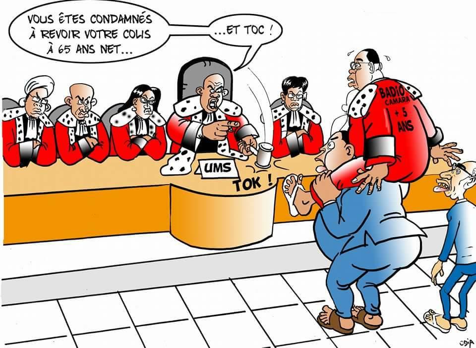 Les magistrats renvoient Macky avec son colis Badio...par Odia (La Tribune)