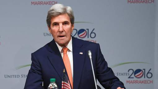 À Marrakech, John Kerry tente de rassurer la COP22