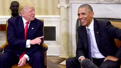 """Obama espère que Trump """"tiendra tête"""" à la Russie"""