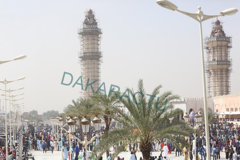 Magal  2016  : Les images de la grande mosquée de Touba