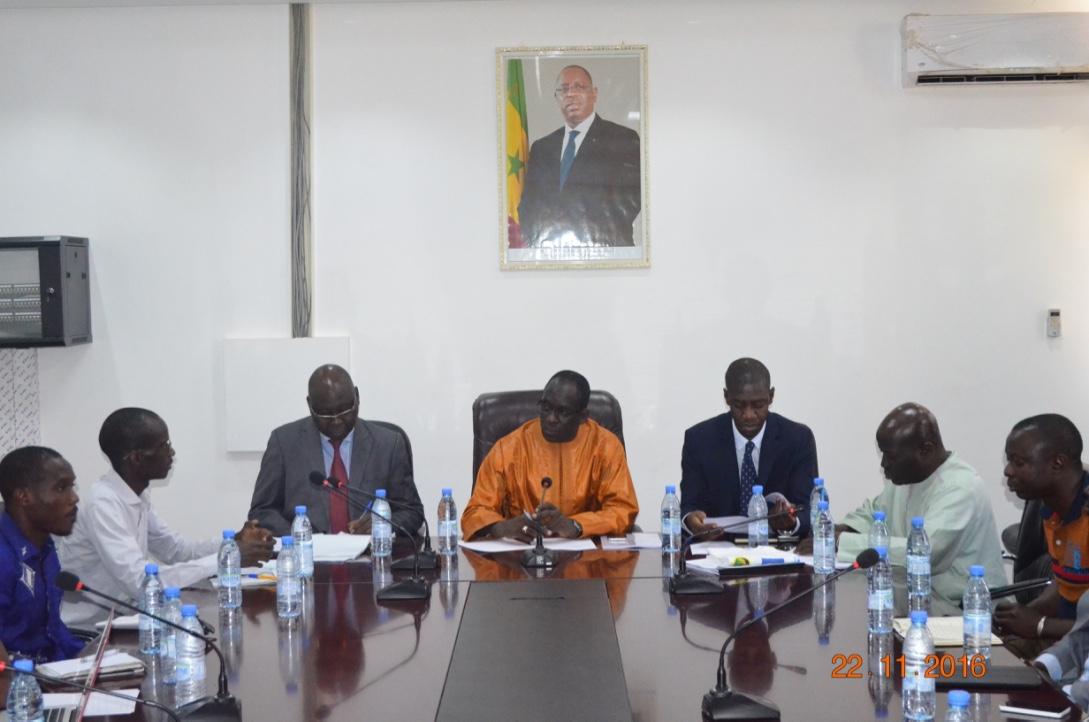 Vers la signature d'un partenariat entre le ministère de la Gouvernance locale et l'Association des Etudiants et professionnels spécialisés en Gestion des Collectivités locales.