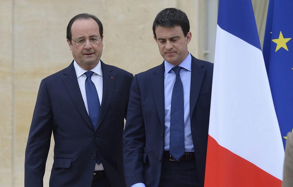 Manuel Valls n'exclut pas d'affronter François Hollande