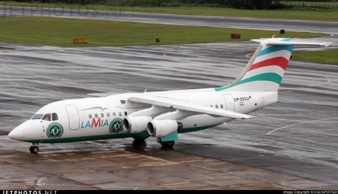 Colombie : Un avion s'écrase avec 81 personnes à bord, dont une équipe de football
