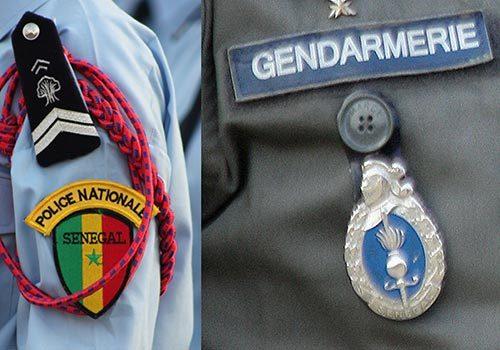 Rufisque : Trois policiers et un gendarme se donnent en spectacle en pleine rue.