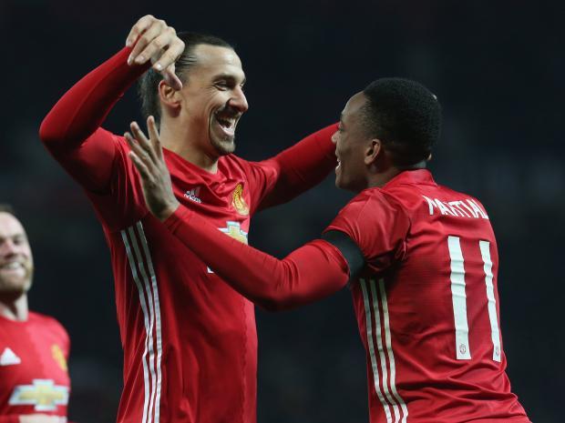 League cup anglaise : MU en demie, Ibra et Martial s'éclatent...
