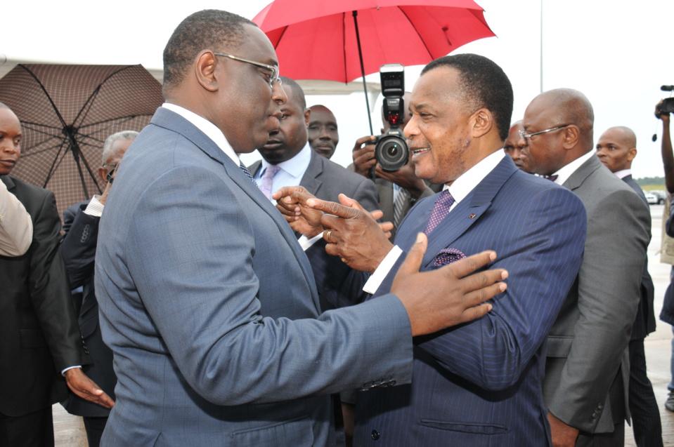 Denis Sassou-Nguesso en visite à Dakar (média)