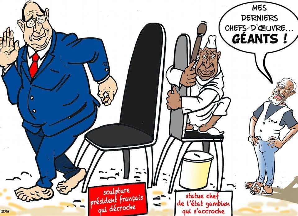 Le dernier chef d'oeuvre d'Ousmane Sow (par Odia la tribune)