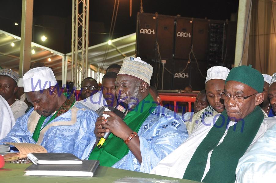 Les images de la célébration du Maouloud à la mosquée Omarienne
