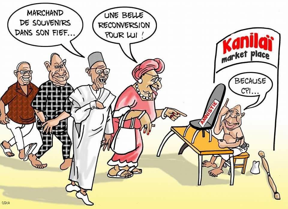 Jammeh et ses hôtes de la Cedeao.......par Odia