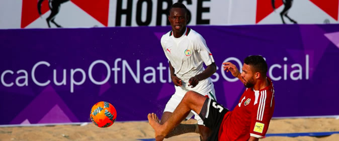 Beach Soccer - CAN : Le Sénégal écrase la Libye (10-2)
