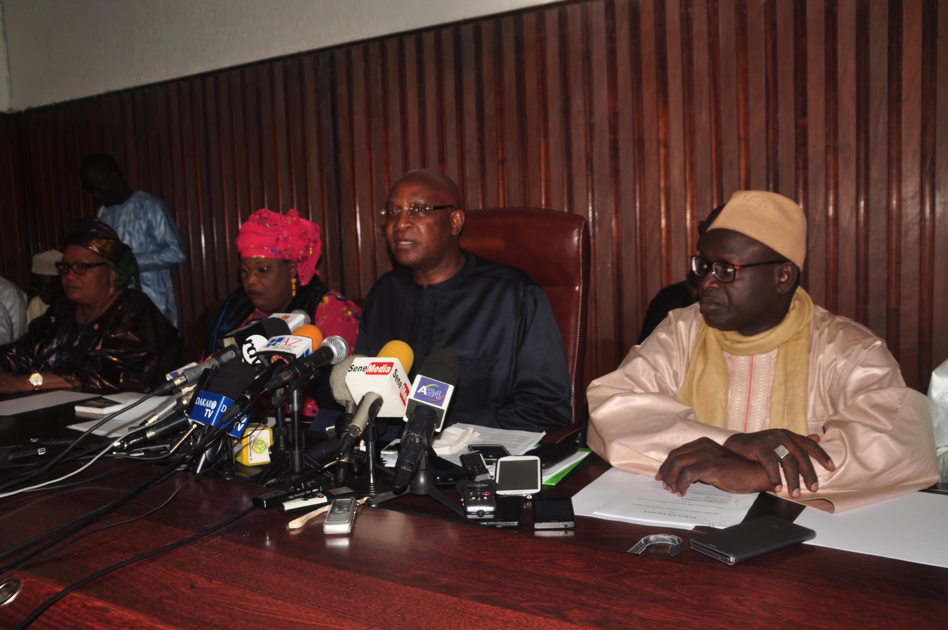 Serigne Mbaye Thiam recadre encore le camp de Khalifa Sall : « il faut respecter le point de vue de la majorité»