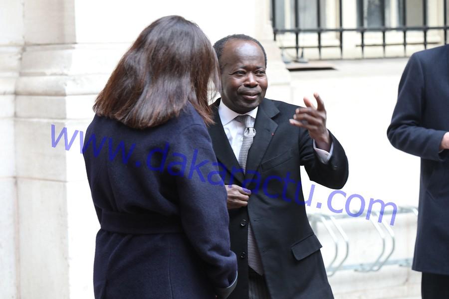 VISITE DE MACKY SALL : Diagna Ndiaye félicité par la Ville de Paris et sa maire Anne Hidalgo