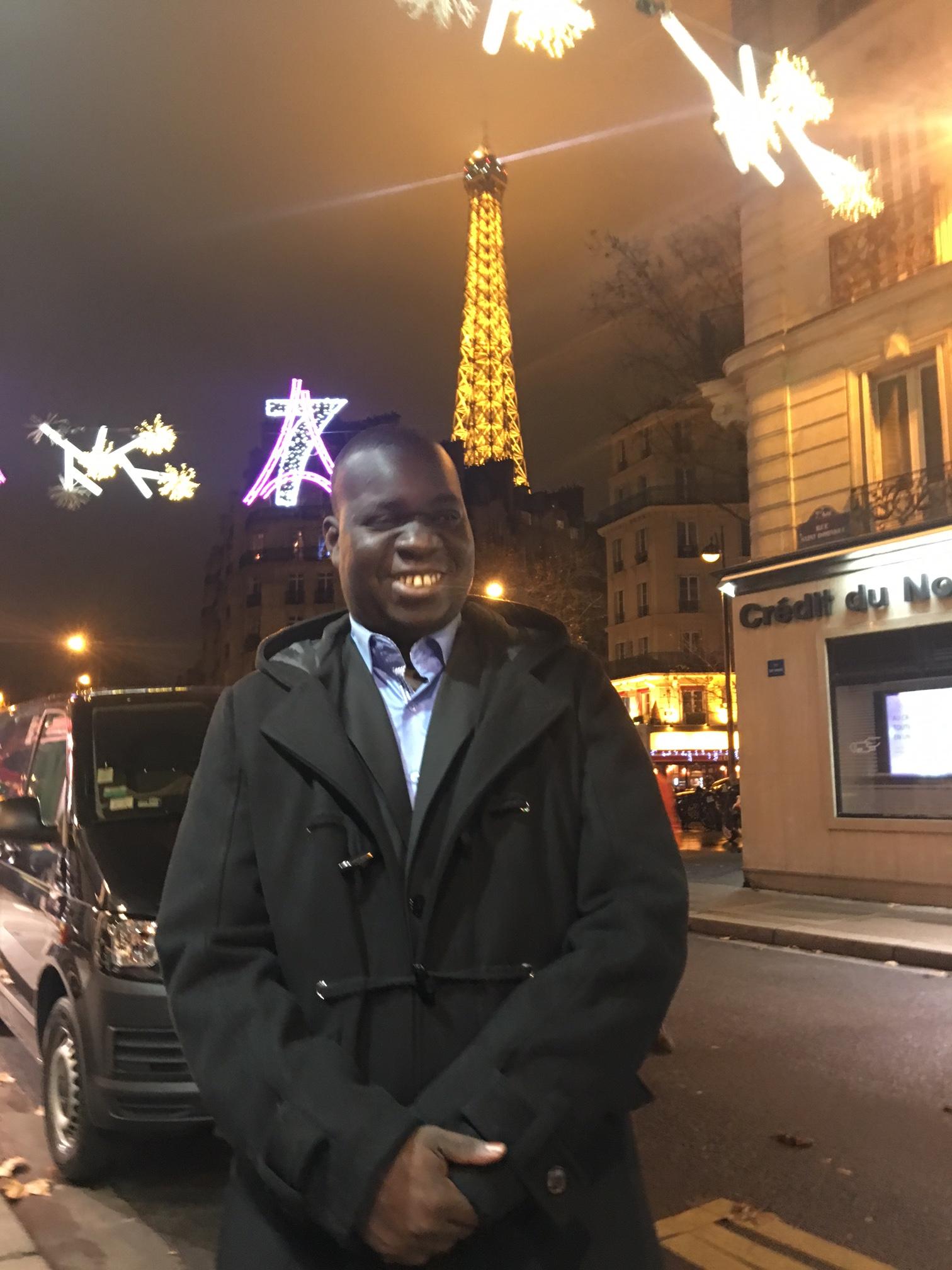 PARIS : Le journaliste El Malick Seck à Paris pour la visite d'Etat du président Macky Sall