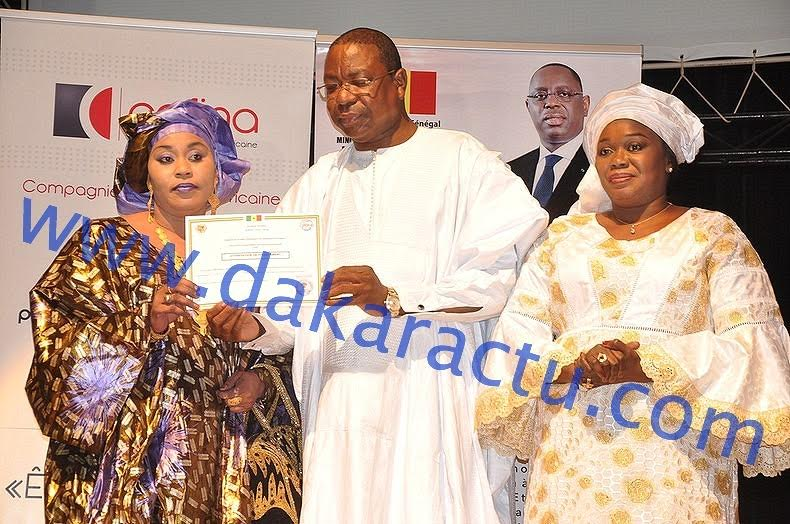 Les images de la cérémonie de remise de cheques aux bénéficiaires du fonds d'appui à l'investissement des sénégalais de l'extérieur