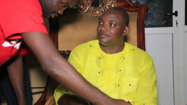 Jammeh est en Gambie, assure Barrow